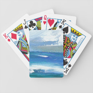 Charisma Oceanscape Ocean Art Gifts Poker Deck