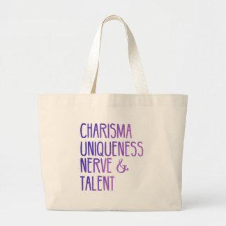 Charisma Uniqueness Nerve and Talent Tote