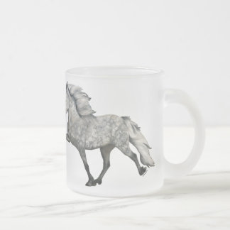 Charismatic Frosted Glass Coffee Mug
