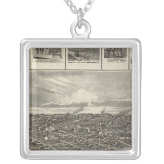 Chariton, Iowa businesses in Davenport Silver Plated Necklace