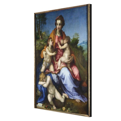 Charity, 1518-19 gallery wrap canvas