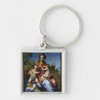 Charity, 1518-19 keychain