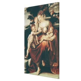 Charity 1544-58 canvas prints