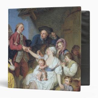 Charity, 1777 binder