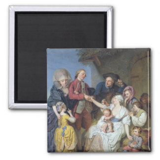 Charity, 1777 magnet