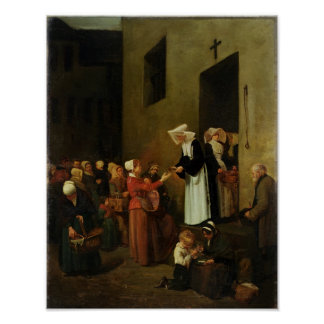 Charity, 1851 poster