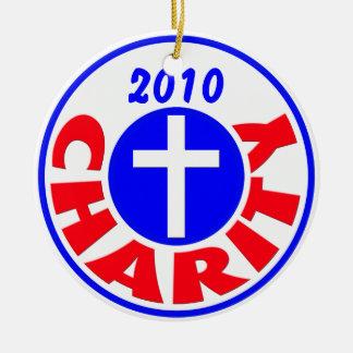 Charity 2010 ceramic ornament