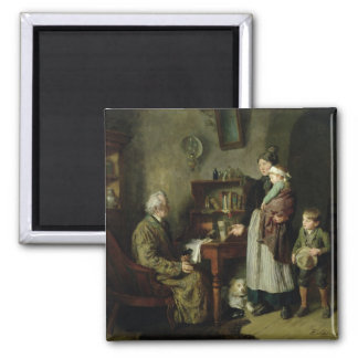 Charity 2 2 inch square magnet
