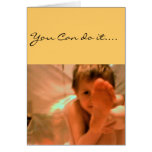 Charity Angel Encouragement Greeting Card