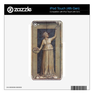 Charity by Giotto iPod Touch 4G Decal