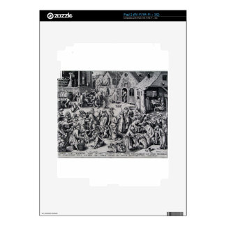 Charity by Pieter Bruegel the Elder Decal For The iPad 2