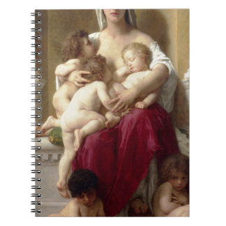 Charity by William-Adolphe Bouguereau Notebook