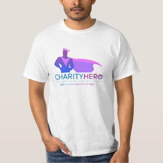 CHARITY HERO LOGO MEN'S T-SHIRT