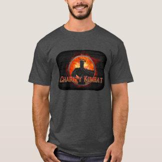CHARITY HERO MK MEN'S DARK T-SHIRT