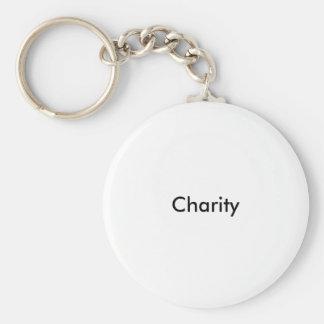 Charity Keyring Basic Round Button Keychain