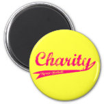 Charity Never Faileth LDS Relief Society 2 Inch Round Magnet
