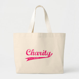 Charity Never Faileth LDS Relief Society Large Tote Bag