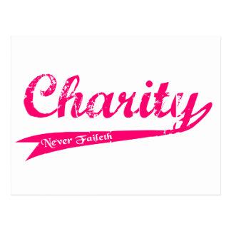 Charity Never Faileth LDS Relief Society Postcard