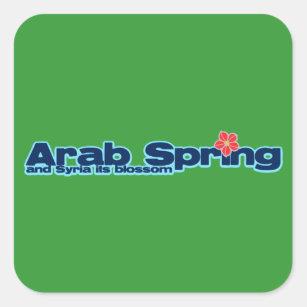 Charity project: Syria Revolution Arab Spring Square Sticker