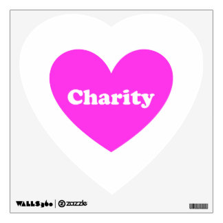 Charity Wall Decal