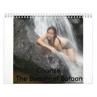 Charize la belleza de Bataan Calendarios De Pared