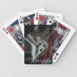 Charla a la pata barajas de cartas