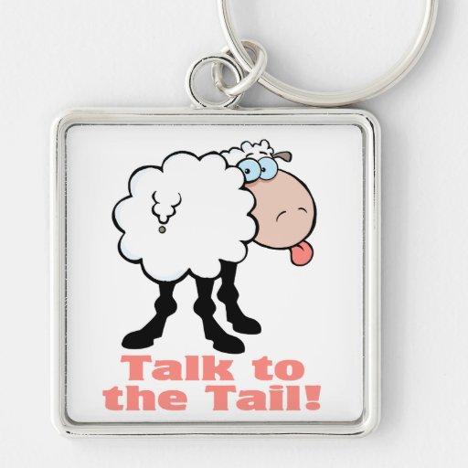 charla a las ovejas enrrolladas de la actitud de l llaveros personalizados