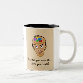 ¡Charla a su enfermera! - Psiquiatría Tazas De Café