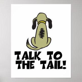 Charla al perro de la cola poster