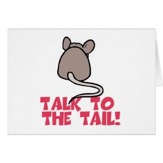 Charla al ratón de la cola felicitaciones