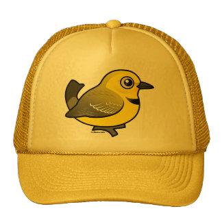 Charla amarilla gorro