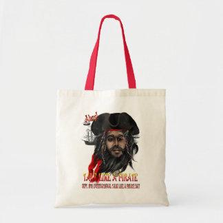 Charla como bolsos de un pirata… bolsa