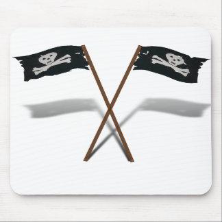 """""""Charla como día feliz de un pirata"""" Alfombrilla De Ratones"""