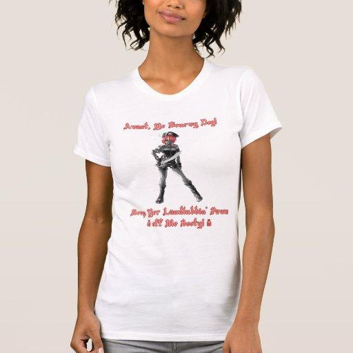 Charla como un día del pirata camisetas
