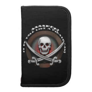 Charla como un día del pirata - espadas del cráneo organizador