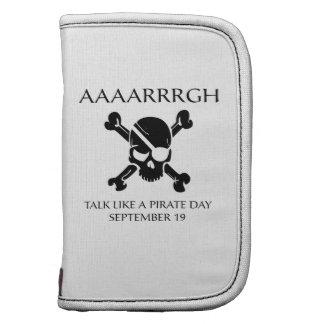 Charla como un día del pirata planificadores