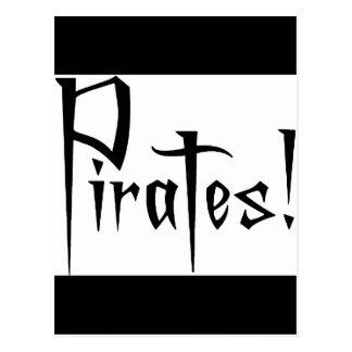 Charla como un día del pirata tarjetas postales