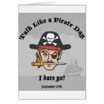 ¡Charla como un día del pirata! Tarjetón
