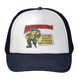 Charla como un gorra del pirata