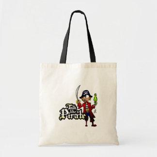 Charla como un pirata bolsa de mano