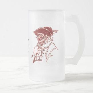 Charla como un pirata taza