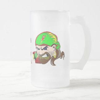 Charla como una taza de cerveza del pirata