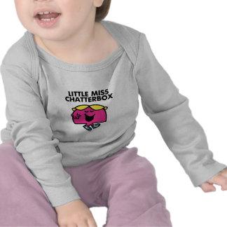 Charla con pequeña Srta. Chatterbox Camiseta