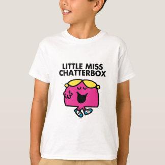 Charla con pequeña Srta. Chatterbox Playera