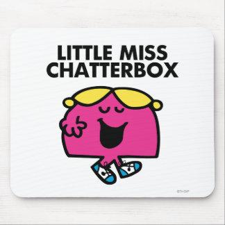 Charla con pequeña Srta. Chatterbox Alfombrilla De Ratón