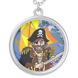 Charla de Arrrrr como un día del pirata Colgante Redondo