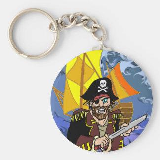 Charla de Arrrrr como un día del pirata Llavero Redondo Tipo Pin