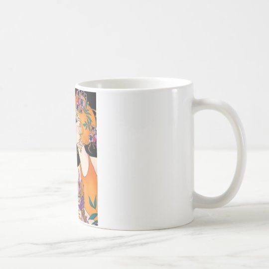 charla de la belleza taza de café