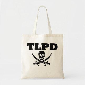 Charla de TLPD como un día del pirata Bolsas Lienzo