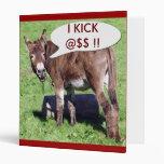 Charla del burro GOLPEO lema de @$$ con el pie